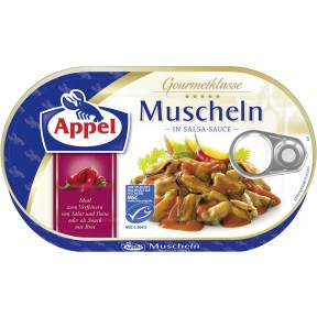 Appel Muscheln in Salsa Sauce
