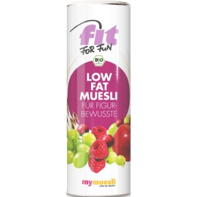 mymuesli Bio Fit for Fun Low Fat Müsli