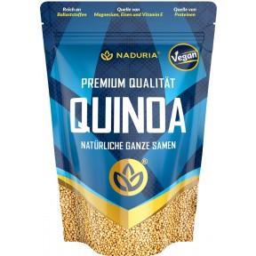 Naduria Premium Qualität Quinoa natürliche ganze Samen 500 g