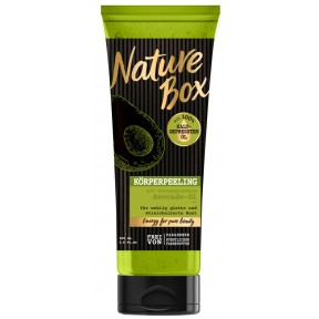 Nature Box Körperpeeling mit kaltgepresstem Avovadoöl