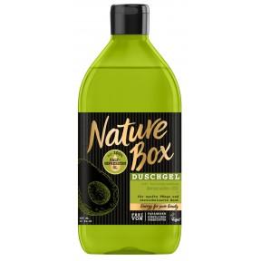 Nature Box Duschgel mit kaltgepresstem Avocado-Öl