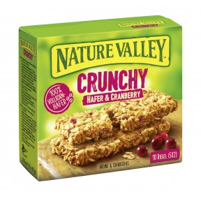 Nature Valley Crunchy Hafer & Cranberry Riegel