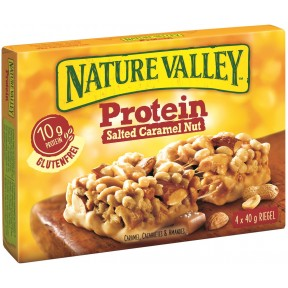 Nature Valley Protein Salted Caramel Nut Riegel 4x 40 g