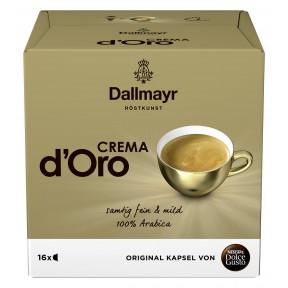 Nescafé Dolce Gusto Dallmayr Crema d Oro Kapseln 16ST 120G