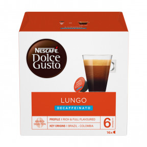 Nescafé Dolce Gusto Lungo Decaffeinato Kapseln 16x7g