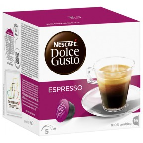 Nescafé Dolce Gusto Espresso Kapseln 16x 10 g