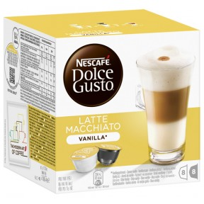 Nescafé Dolce Gusto Latte Macchiato Vanilla Kapseln 8x 23,625 g