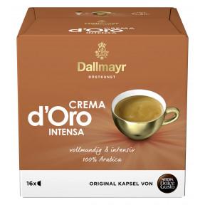 Nescafé Dolce Gusto Kapseln Dallmayr Crema d Oro Intensa 16ST 112G