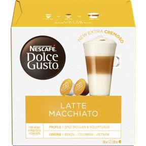 Nescafé Dolce Gusto Kapseln Latte Macchiato 8ST 183,2G