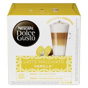 Nescafé Dolce Gusto Kapseln Latte Macchiato Vanilla 8x 14,2G + 5G