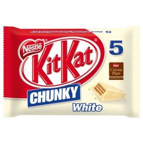 Nestle KitKat Chunky White 5x 40 g