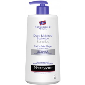 Neutrogena Bodylotion Sensitive Deep Moisture 0,4 ltr