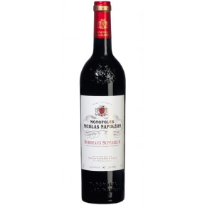 Monopoles Nicolas Napoléon Bordeaux Superieur Rotwein 2016