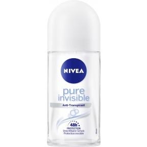 Nivea Deo Roll-On Pure Invisible 50 ml