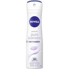 Nivea Quick Dry Pure & Sensitive Anti-Transpirant 150 ml