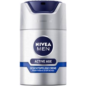 Nivea Men Active Age Gesichtspflege-Creme Anti-Falten 50ML