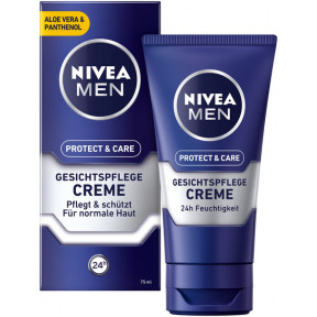 Nivea Men Gesichtspflegecreme Protect & Care 75Ml