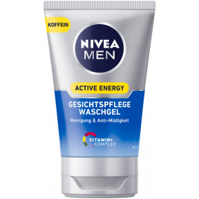 Nivea Men Waschgel Active Energy Gesichtspflege 100ML