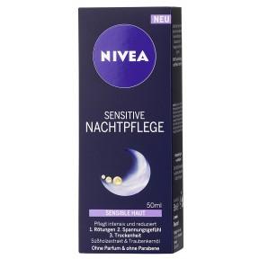 Nivea Sensitive Nachtpflege