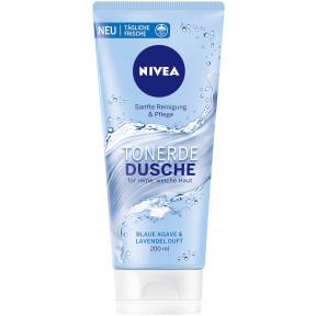 Nivea Tonerde Dusche blaue Agave & Lavendel Duft 200ML