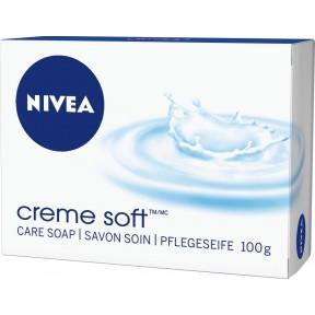 Nivea Seife Creme Soft Stück 100 g