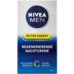 Nivea for Men Active Energy regenerierende Nachtcreme