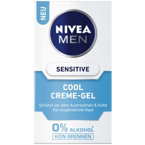 Nivea Men Cool Creme-Gel Sensitive