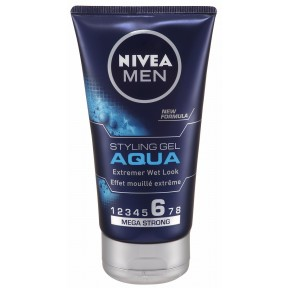 Nivea for Men Aqua Styling Gel - Stärke 6