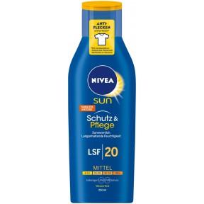 Nivea Sun Schutz & Pflege Sonnenmilch LSF 20