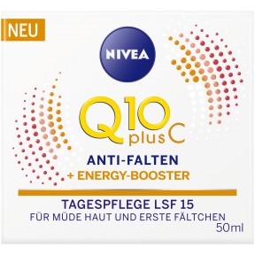 Nivea Q10 Plus C Anti-Falten + Energy-Booster Tagespflege LSF 15 50 ml