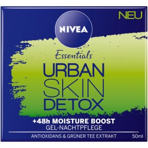 Nivea Essentials Urban Skin Detox Gel-Nachtpflege
