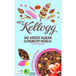 Kelloggs No Added Sugar Crunchy Müsli Cacao & Hazelnut 400 g