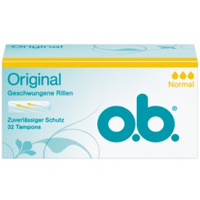 o.b. Original Tampons normal 32 Stück
