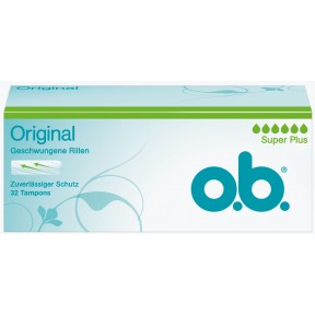 o.b.Original Tampons Super Plus 32ST