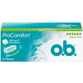 o.b. Pro Comfort Tampons Super Plus