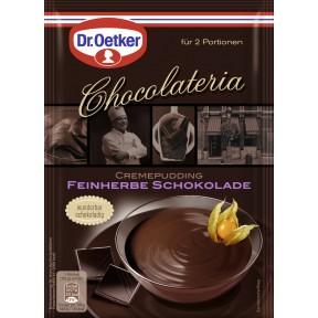 Dr.Oetker Chocolateria Cremepudding feinherbe Schokolade