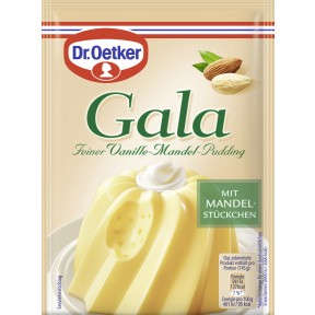 Dr.Oetker Gala feiner Vanille-Mandel-Pudding 2x 40 g
