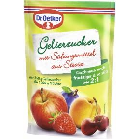Dr.Oetker Gelierzucker mit Süßungsmittel aus Stevia