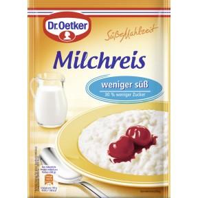 Dr.Oetker Milchreis weniger süß 112 g