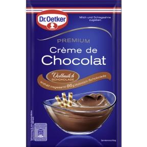 Dr.Oetker Premium Crème de Chocolat Vollmilch Schokolade