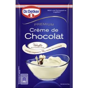 Dr.Oetker Premium Crème de Chocolat Weiße Schokolade