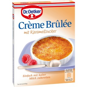 Dr.Oetker Crème Brûlée mit Karamellzucker