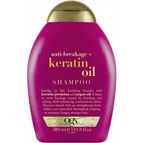OGX Anti-Breakage Keratin Oil Shampoo 385 ml