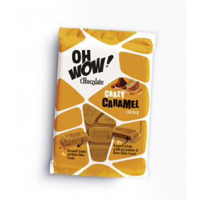 Oh Wow Chocolate Crazy Caramel Crunch 90G