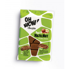 Oh Wow Chocolate Salty Hazelnut Caramel Intense 90G