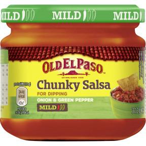 Old El Paso Chunky Salsa Dip Mild 312 g