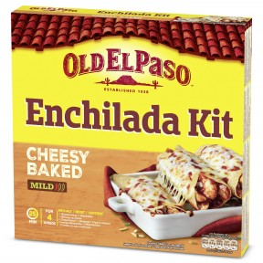 Old El Paso Enchilada Kit Cheesy Baked