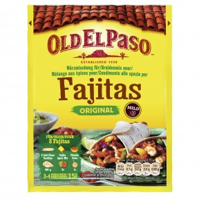 Old El Paso Fajita Würzmischung