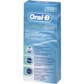 Oral-B Superfloss Zahnseide 50 einzelne Fäden