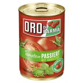 Oro di Parma Tomaten passiert mit Kräutern Dose 400 g